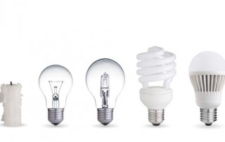 LED lightbulbs saving money