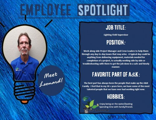 Employee Spotlight September 2020